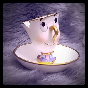 """""""Chip"""" Beauty and the Beast Trinket Tray"""